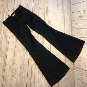 NWT Free People bell bottom jeans dark 26 flare